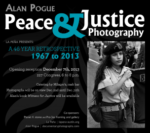 Peace & Justice Photography exhibit